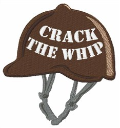 Crack The Whip embroidery design