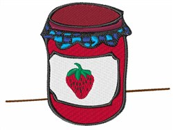 Strawberry Jam embroidery design