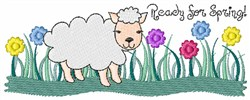 Ready For Spring embroidery design