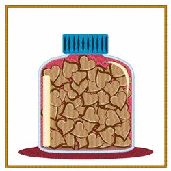Jar Of Hearts embroidery design
