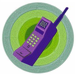 Cell Phone embroidery design