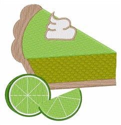 Lime Pie embroidery design
