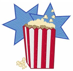 Popcorn embroidery design