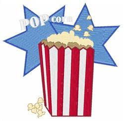 Popcorn embroidery design