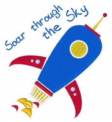 Soar Through The Sky embroidery design