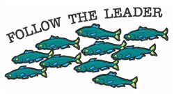 Follow The Leader embroidery design