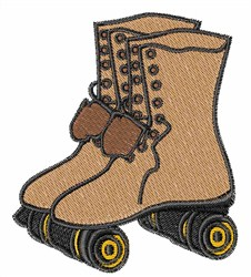 Roller Skate embroidery design