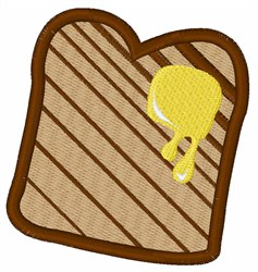 Toast embroidery design