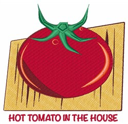 Hot Tomato embroidery design