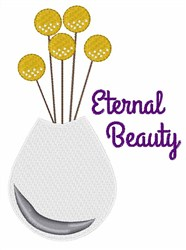 Eternal Beauty embroidery design