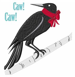 Caw Caw embroidery design