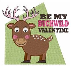 My Buckwild Valentine embroidery design
