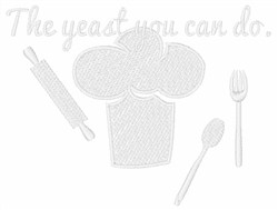 Yeast You Can Do embroidery design