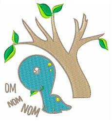 Om Nom Nom embroidery design