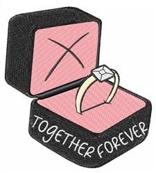 Together Forever embroidery design