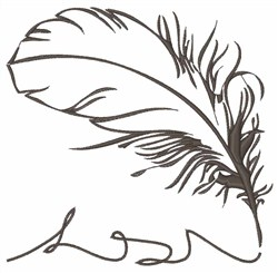 Quill embroidery design