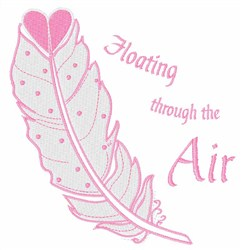 Floating Through The Air embroidery design