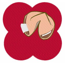 Fortune Cookie embroidery design