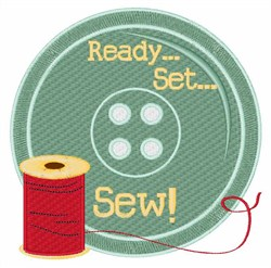 Ready Set Sew embroidery design