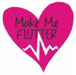 Make Me Flutter embroidery design