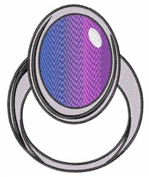 Mood Ring embroidery design