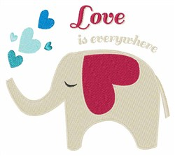 Love Is Everywhere embroidery design