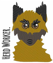 Herd Worker embroidery design