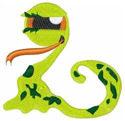 Alien Snake embroidery design