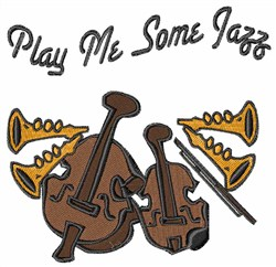 Play Jazz embroidery design