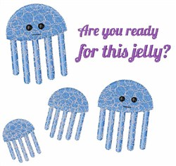Ready Jelly embroidery design
