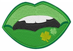 Irish Mouth embroidery design