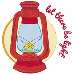 Be Light embroidery design