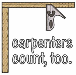 Carpenters Edge embroidery design