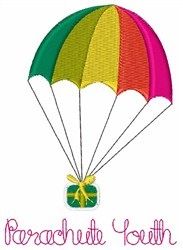 Parachute Youth embroidery design