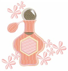 Perfume Scent embroidery design