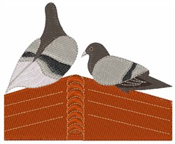 Pigeon House embroidery design