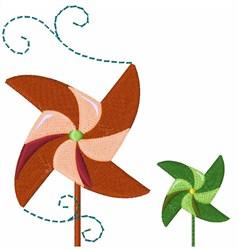 Pinwheel Spinner embroidery design