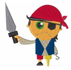 Pirate Boy embroidery design