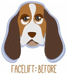 Facelift Before embroidery design