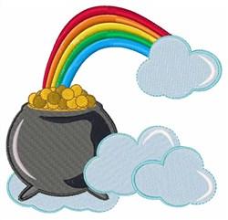 Rainbow Treasure embroidery design