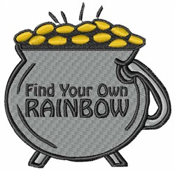 Find Rainbow embroidery design