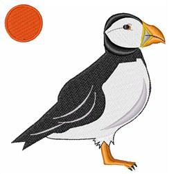 Puffin Bird embroidery design