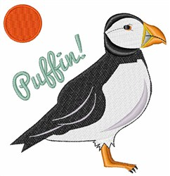 Puffin! Bird embroidery design