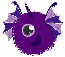 Monster Alien embroidery design
