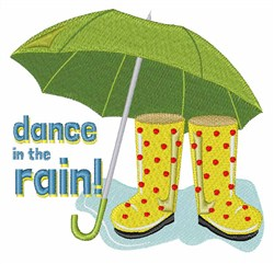 Dance Rain embroidery design