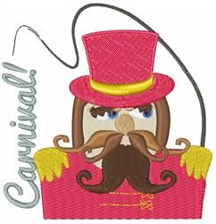 Carnival Man embroidery design