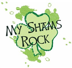 Shams Rock embroidery design