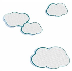 Cloudy Sky embroidery design