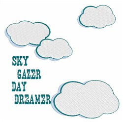 Sky Gazer embroidery design