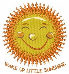 Little Sunshine embroidery design